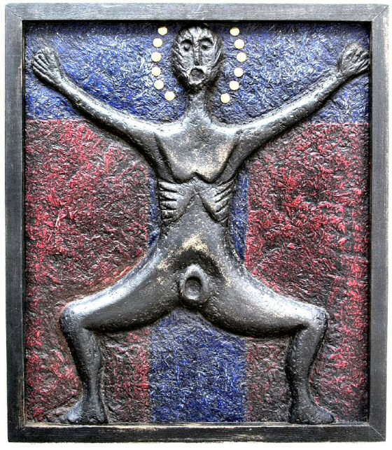Black Sheela Crucified